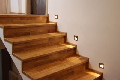 Dřevěné schody Roudnice