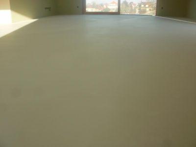 Zbroušení podlahy