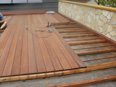 dřevěná terasa masaranduba