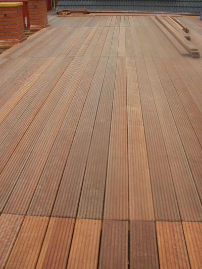 Dřevěné terasy Roudnice