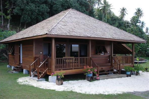 tropical style de vie maison en kits french polynesia structures nos maisons. Black Bedroom Furniture Sets. Home Design Ideas
