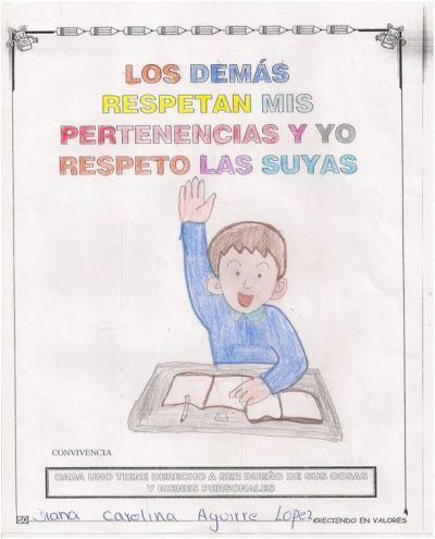 Dibujos Para Colorear Sobre El Respeto A Los Demas Dibujos Para