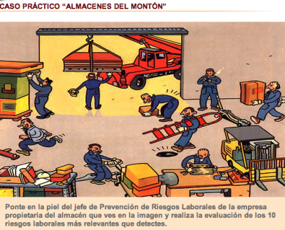 Prevencionriesgoslaboralesalmeria infracciones y for Prevencion de riesgos laborales en la oficina