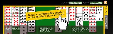 BURRACO ONLINE GRATIS SENZA SCARICARE