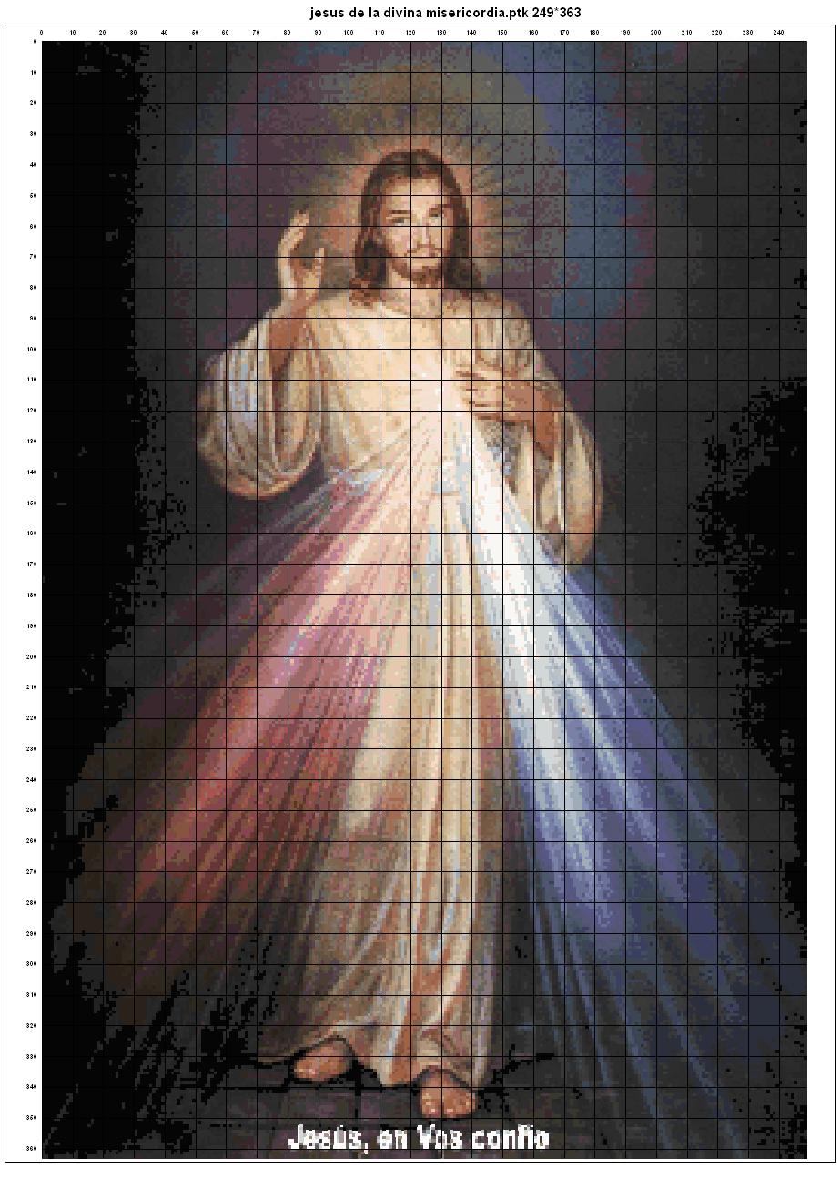 El Señor de la Divina Misericordia. Jesús en ti Confío