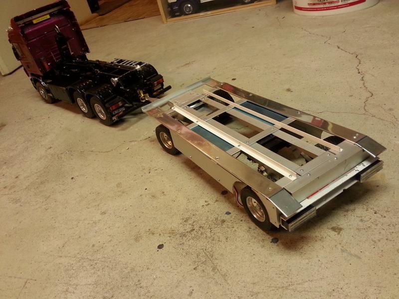 quickyliners truck modellbau anh nger f r den abroller. Black Bedroom Furniture Sets. Home Design Ideas