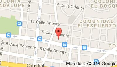 Mapa Alcaldía de San Salvador