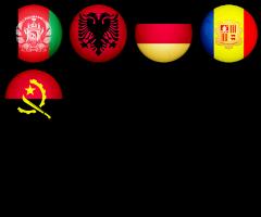 Banderas Nacionales del Planeta