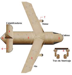 maqueta de avion de papel