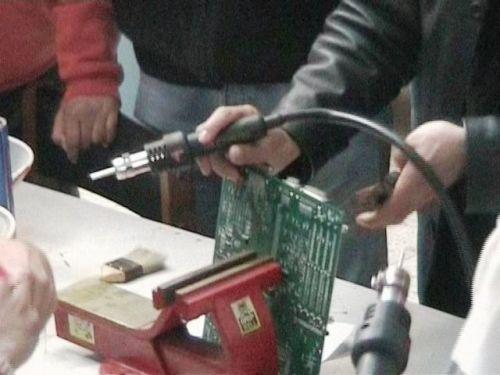 DECOMPOSITION DE LA C.M EN PETITS COMPOSANTS ELECTRONIQUES