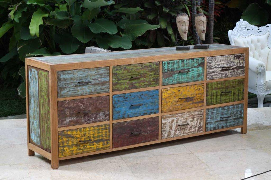 Recycledwood boat recycled furniture for Muebles de importacion