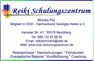 Reiki-Schulungszentrum