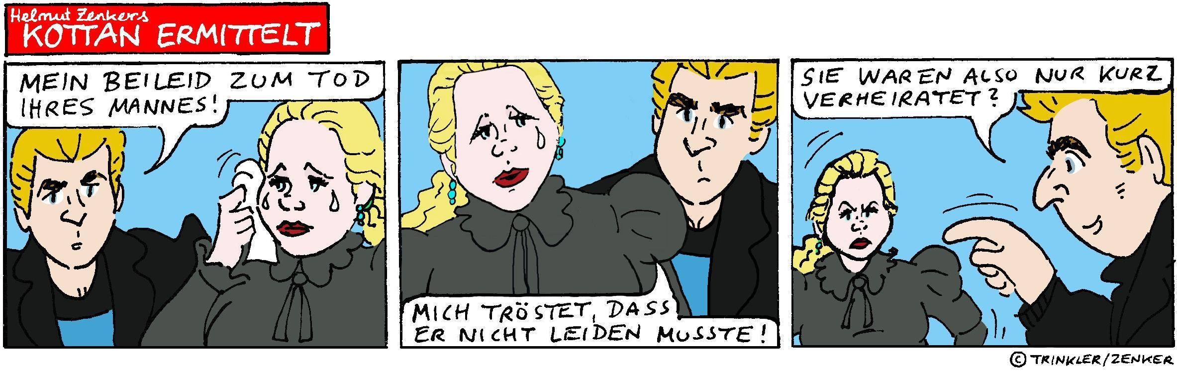 Kottan ermittelt - Comicstrip Nr. 2