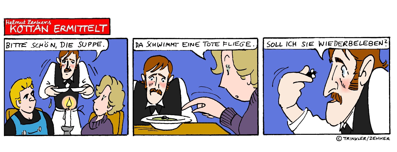 Kottan ermittelt - Comicstrip Nr. 27
