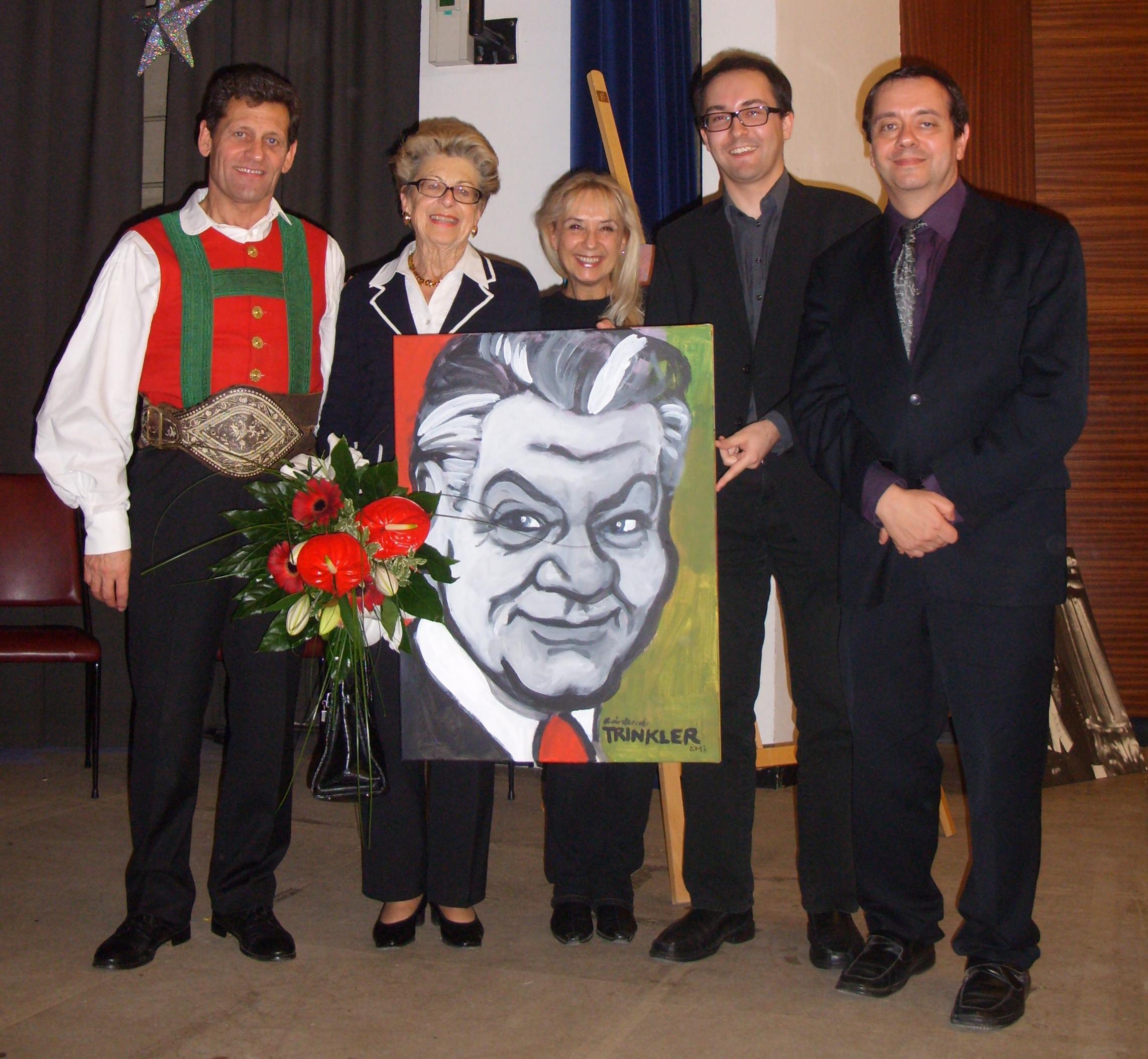 Franz Posch / Erika Conrads / Christa Kern / Reinhard Trinkler / Günter Grossmann