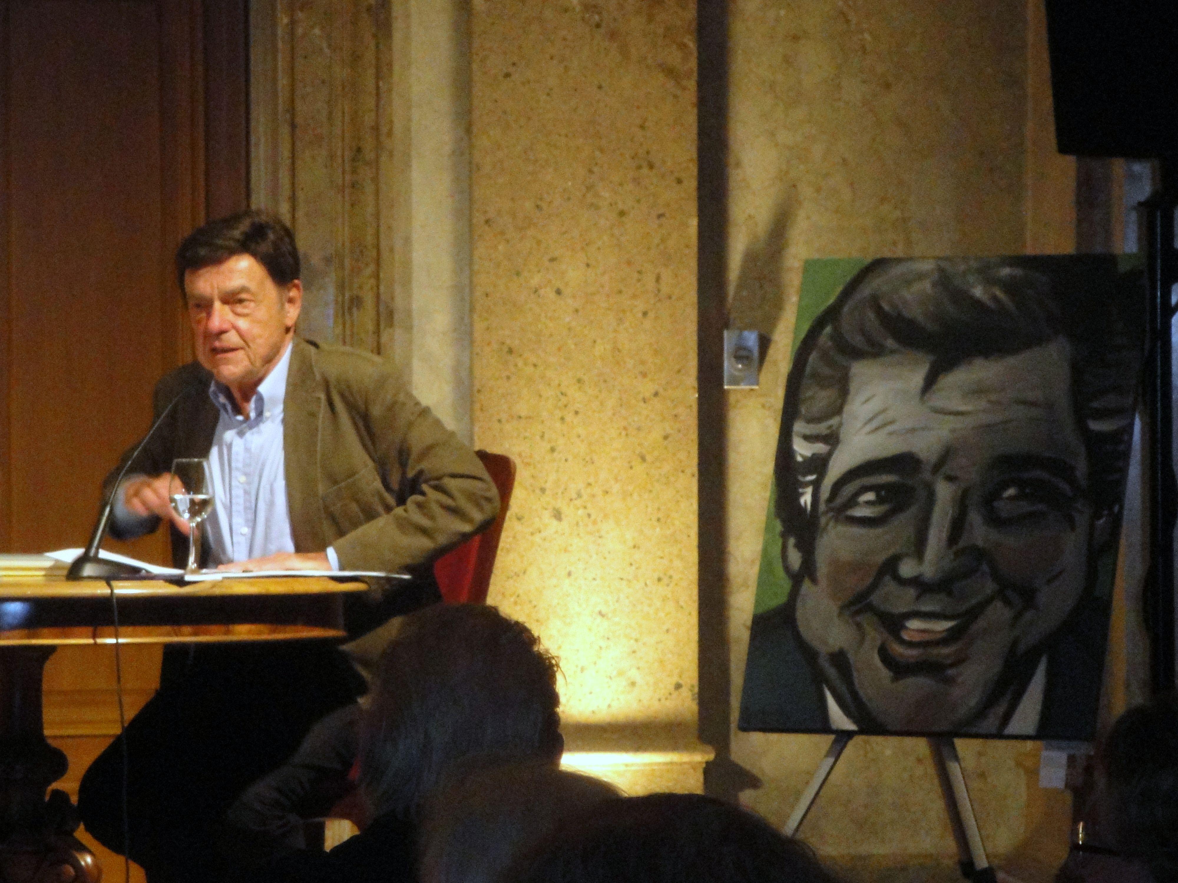 Herbert Pirker / Portrait von Heinz Holecek
