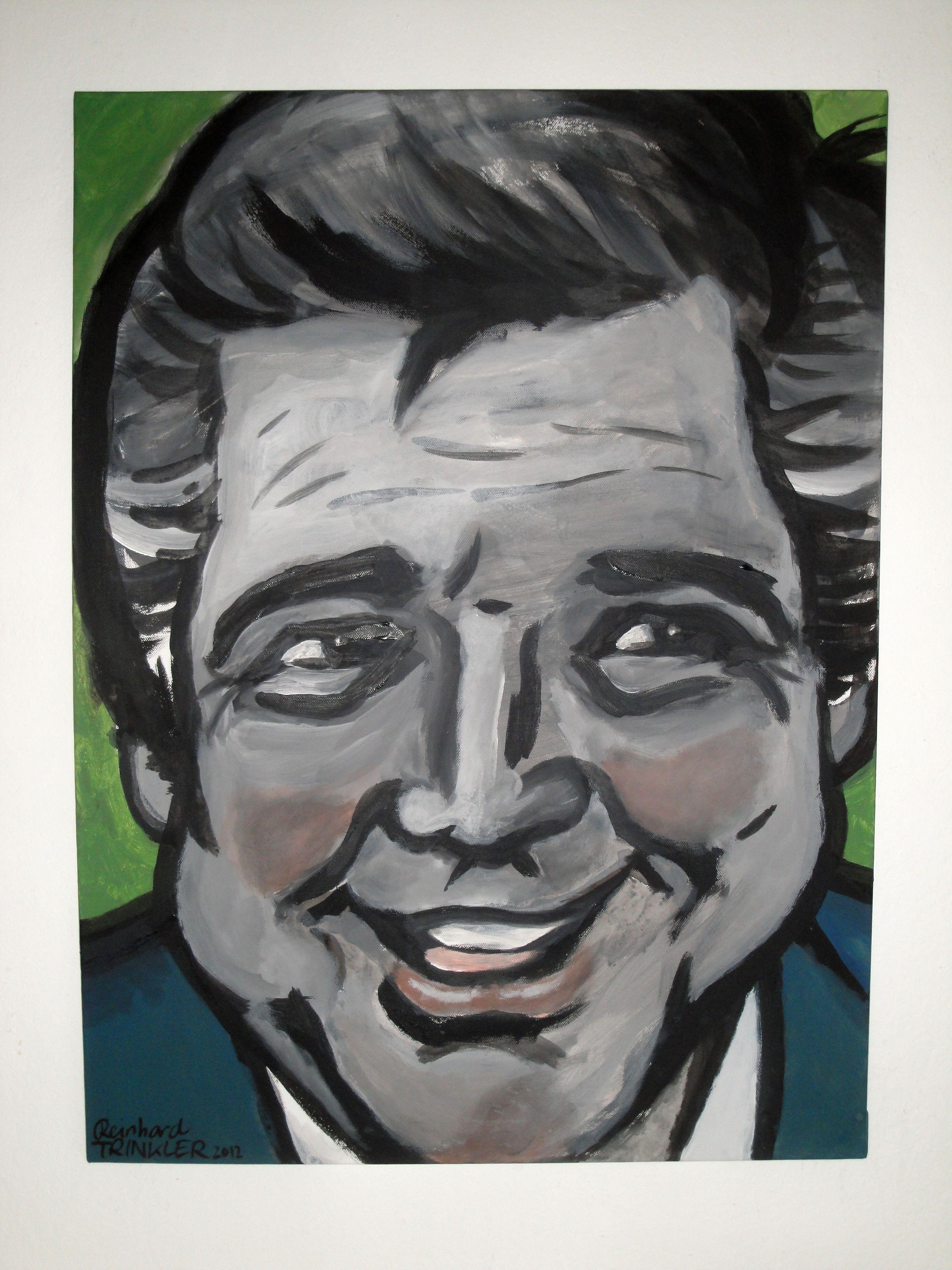 Portrait von Heinz Holecek / Reinhard Trinkler