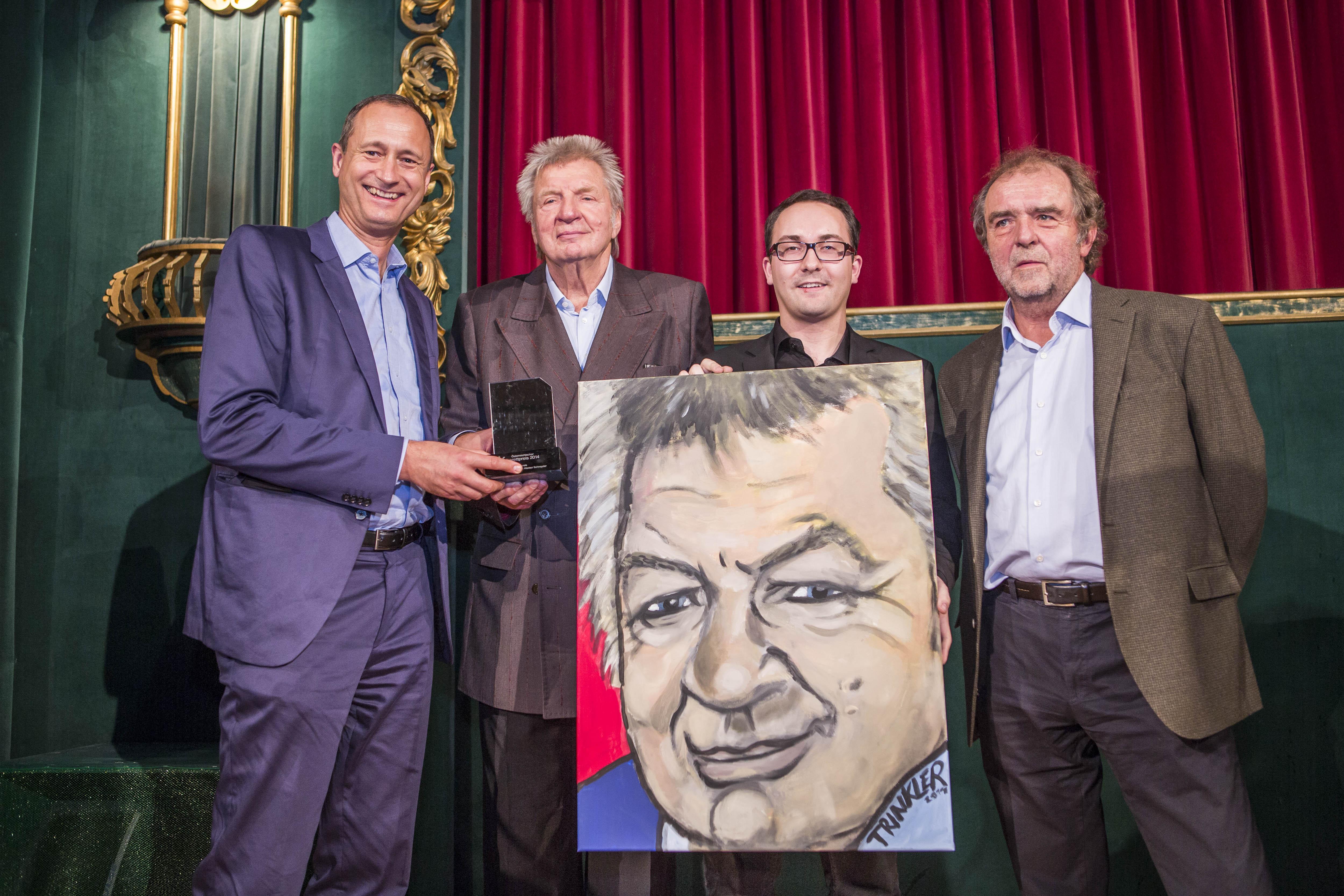 Andreas Mailath-Pokorny, Werner Schneyder, Reinhard Trinkler