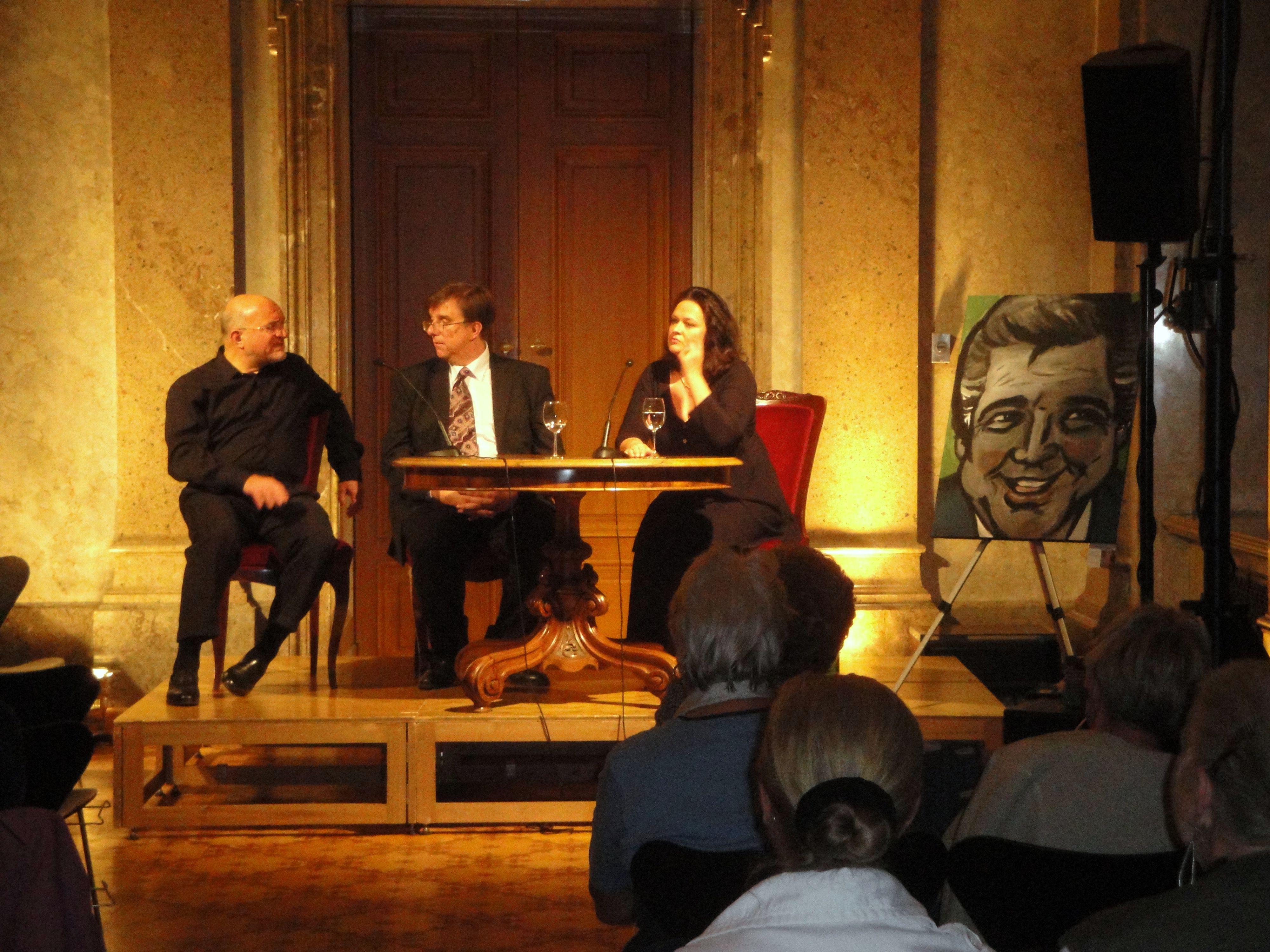 Konrad Leitner / Markus Vorzellner / Charlotte Leitner / Portrait von Heinz Holecek