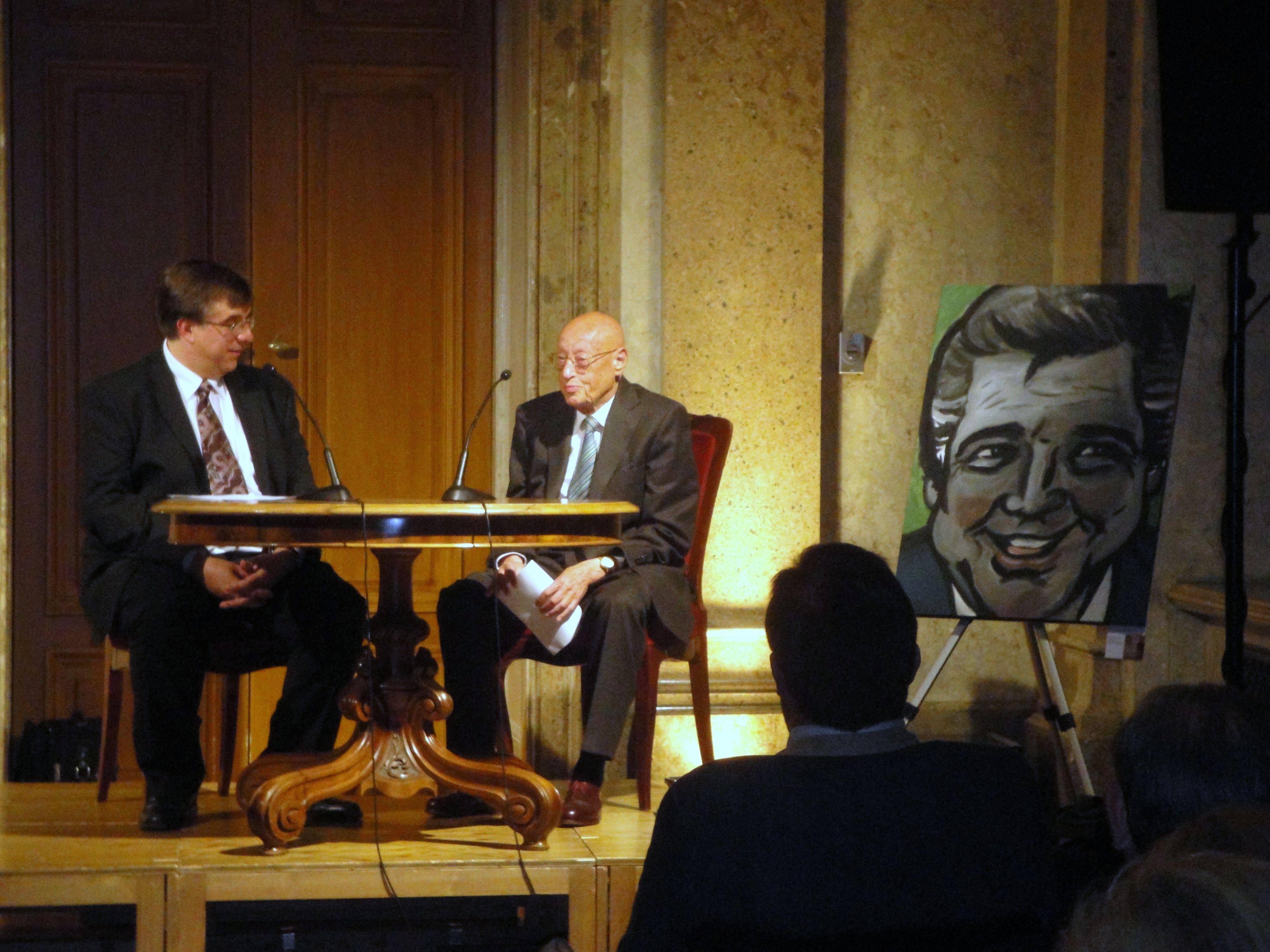 Markus Vorzellner / Prof. Hubert Deutsch / Portrait von Heinz Holecek