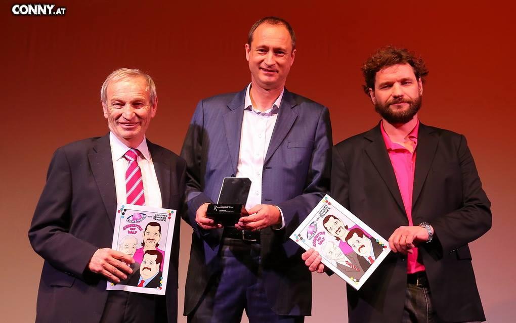 Heinz Oberhummer, Andreas Mailath-Pokorny, Martin Puntigam