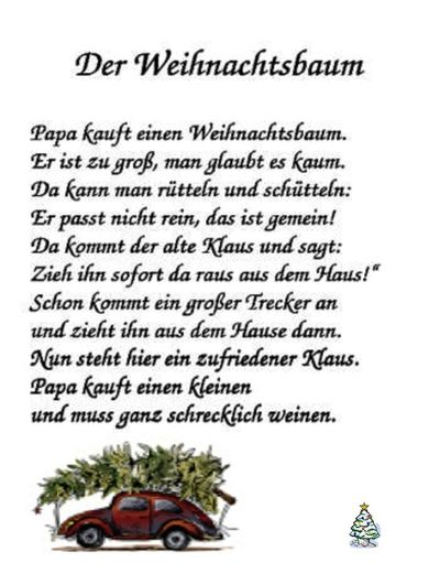 der weihnachtsbaum gedicht my blog. Black Bedroom Furniture Sets. Home Design Ideas