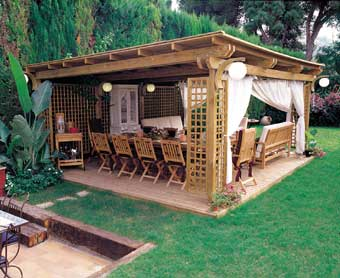 R e n o v o construcciones cobertizos for Cobertizos de madera segunda mano