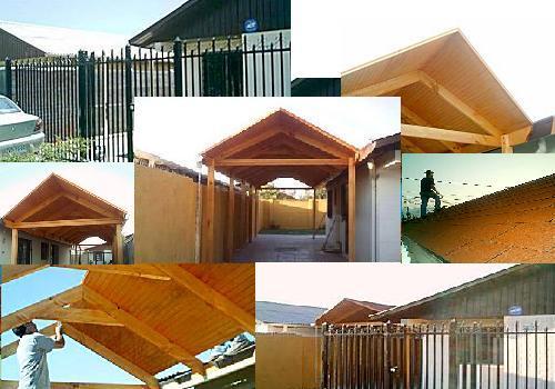 R e n o v o construcciones cobertizos for Cobertizo de madera tratada