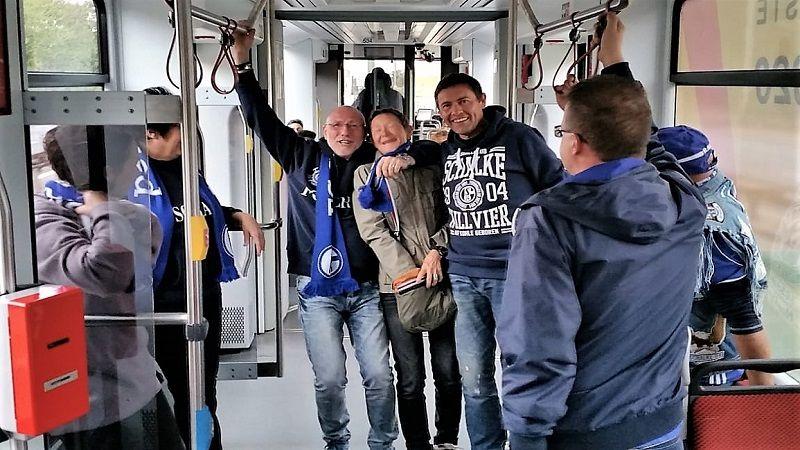 Fahrt mit der S-Bahn