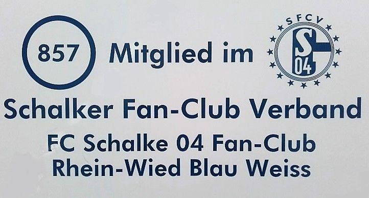 Grafik Mitglied im Fan-Club Schalke 04