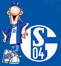 Schalke Logo mit Maskottchen Ährwin