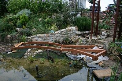 rheinhessisches meer - ein gartenteich - feinarbeiten, teil 2, Haus und garten