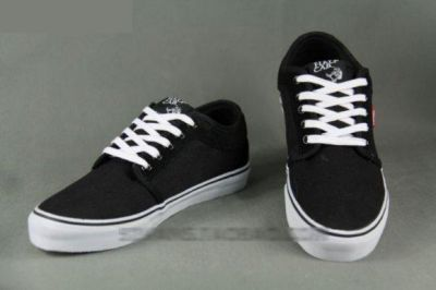vans negras skate