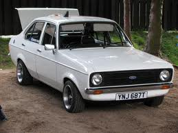 Ford escort curb weight