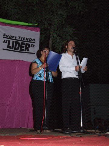 Con Adriana Garnier en los Corsos Sanjosesinos