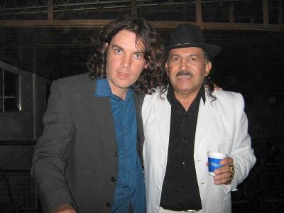 Rolando con Antonio Rios