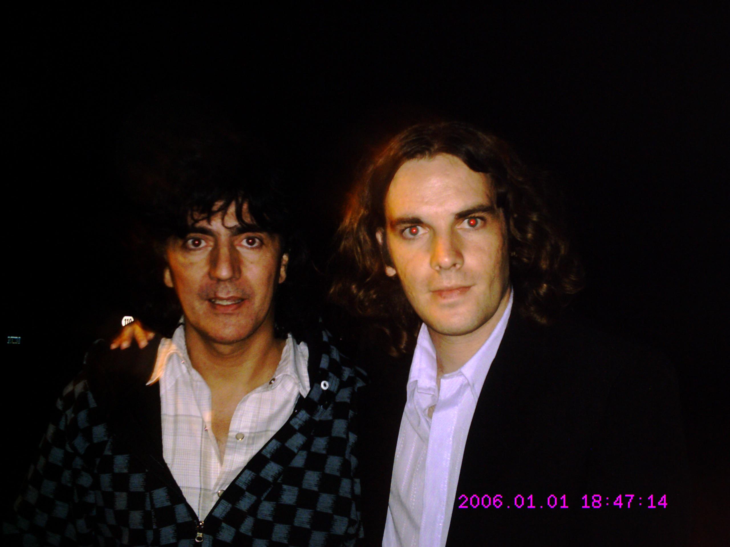 Con Daniel Lezica