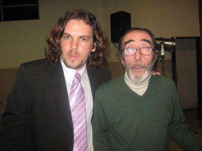 En Villa Elisa, luego de presentar a Manolo Galvan