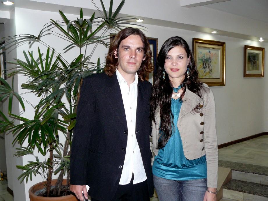 Con Mariel Trimaglio