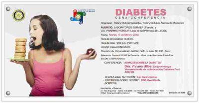conferencia de diabetes