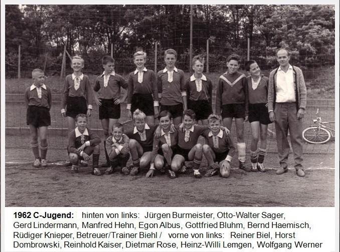 C-Jugend des SV Melsbach 1962