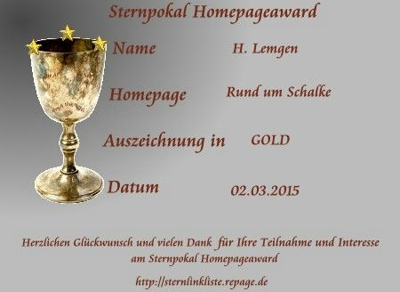 Grafik Besucher-Award in Gold