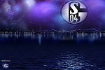 Schalke im Abendhimmel