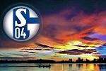 Schalke strahlt im Abendrot