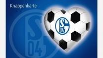 Knappenkarte Schalke Herz