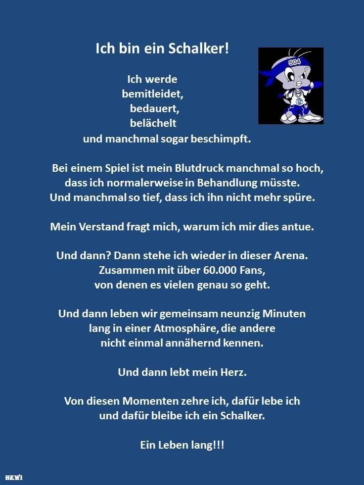 """Grafik """"Ich bin ein Schalker"""""""