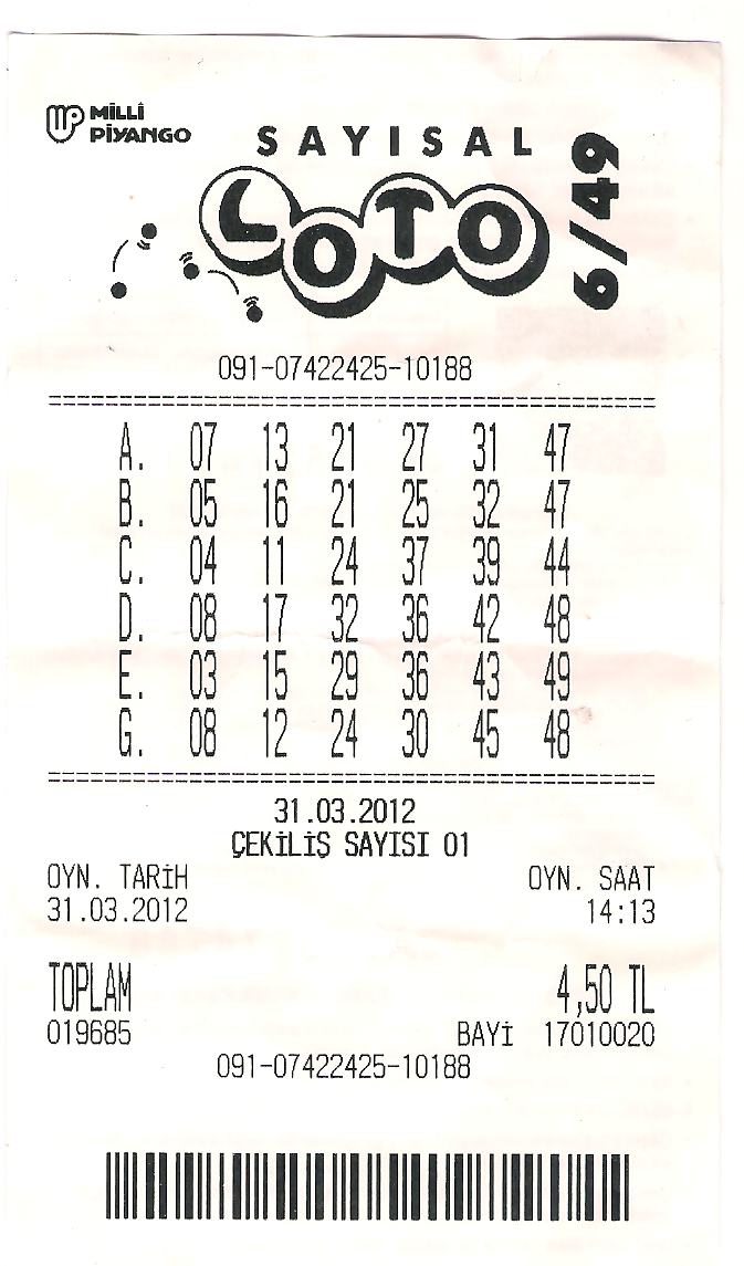 Sayisal Lotto