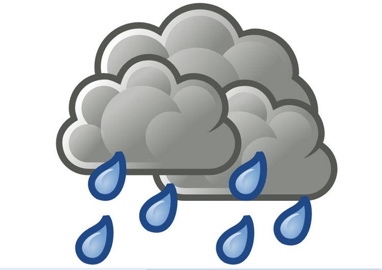 Training im Regen
