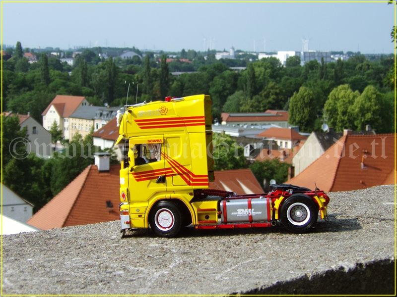 ScaniaGreifson - Scania 164L DHL