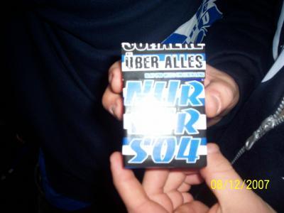 Schalker Zigarettenpackung^^